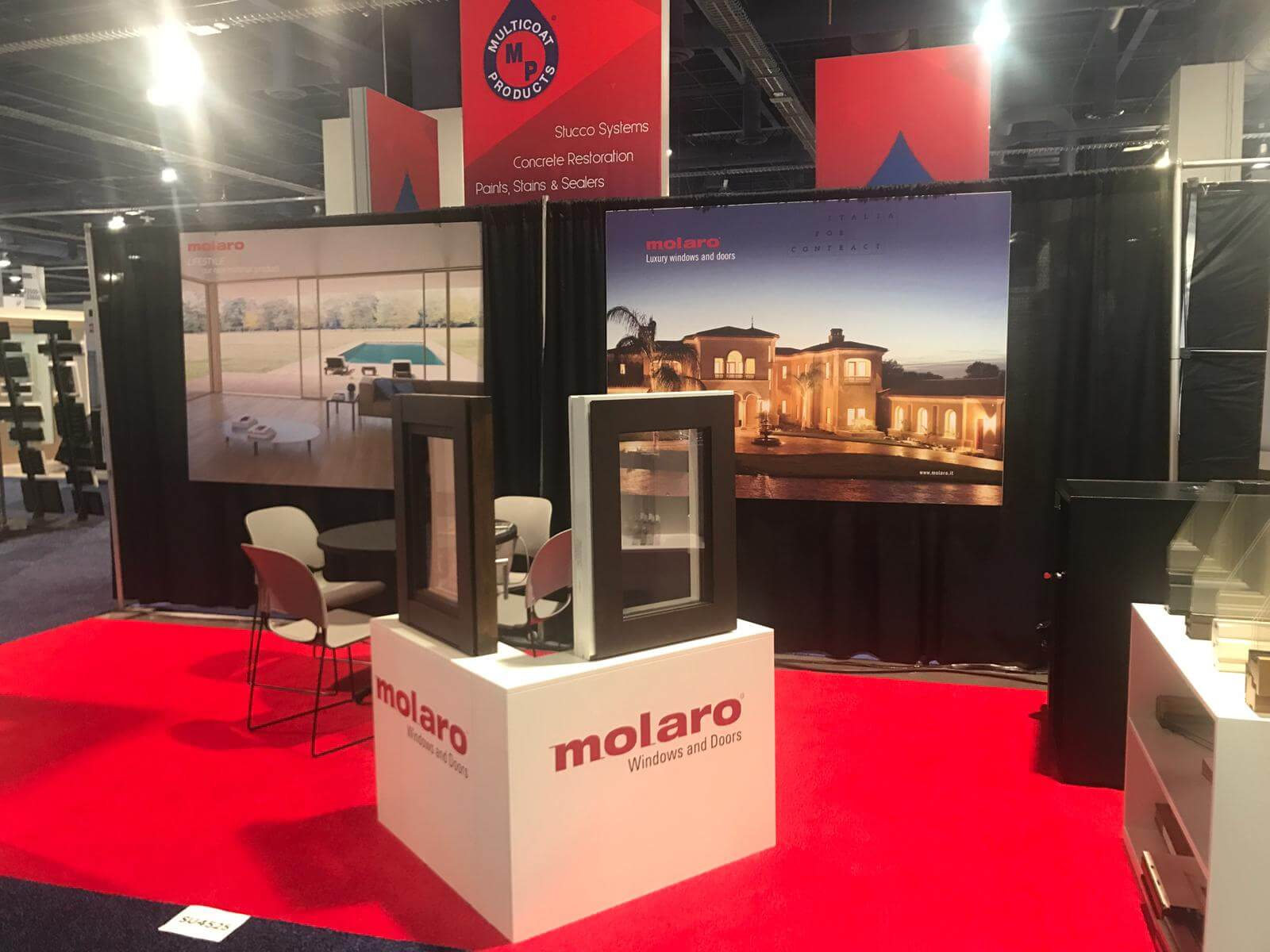 Molaro at Builders' Show Las Vegas 2019