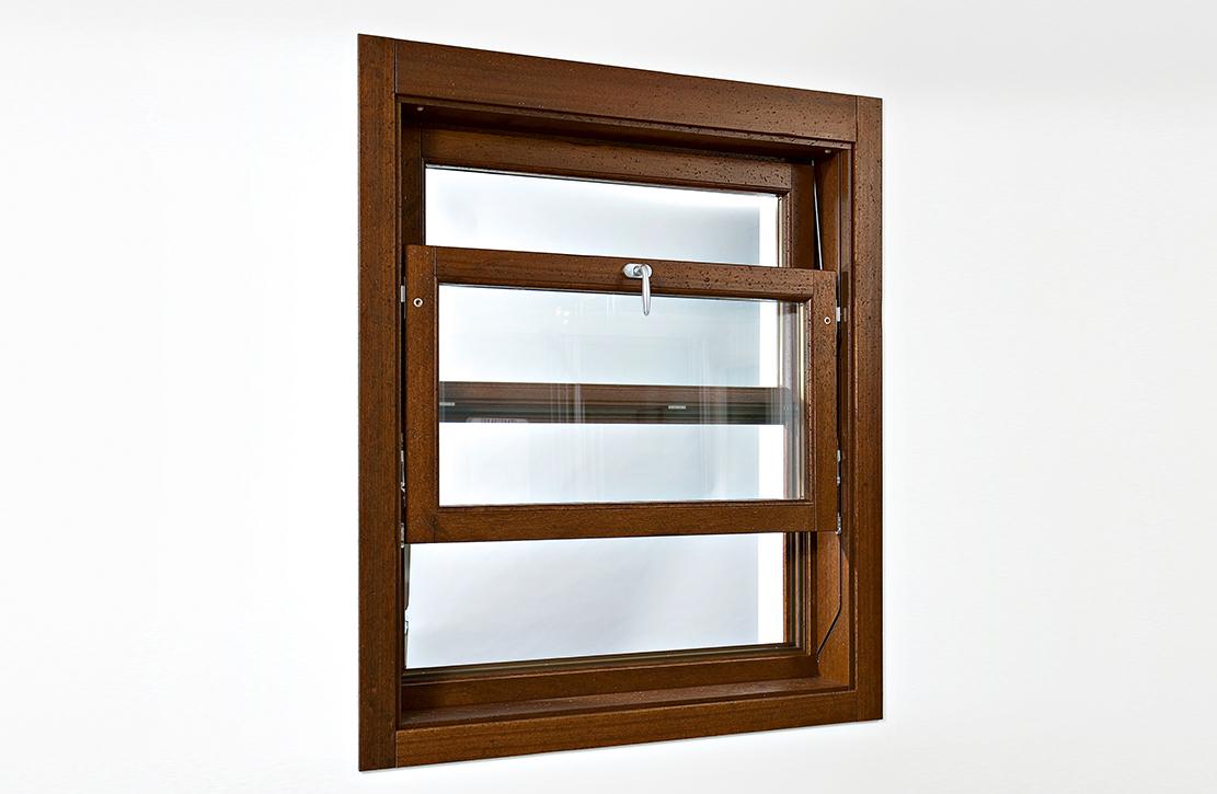 Finestre saliscendi e porte a libro in legno e in legno alluminio molaro - Finestre a ghigliottina ...