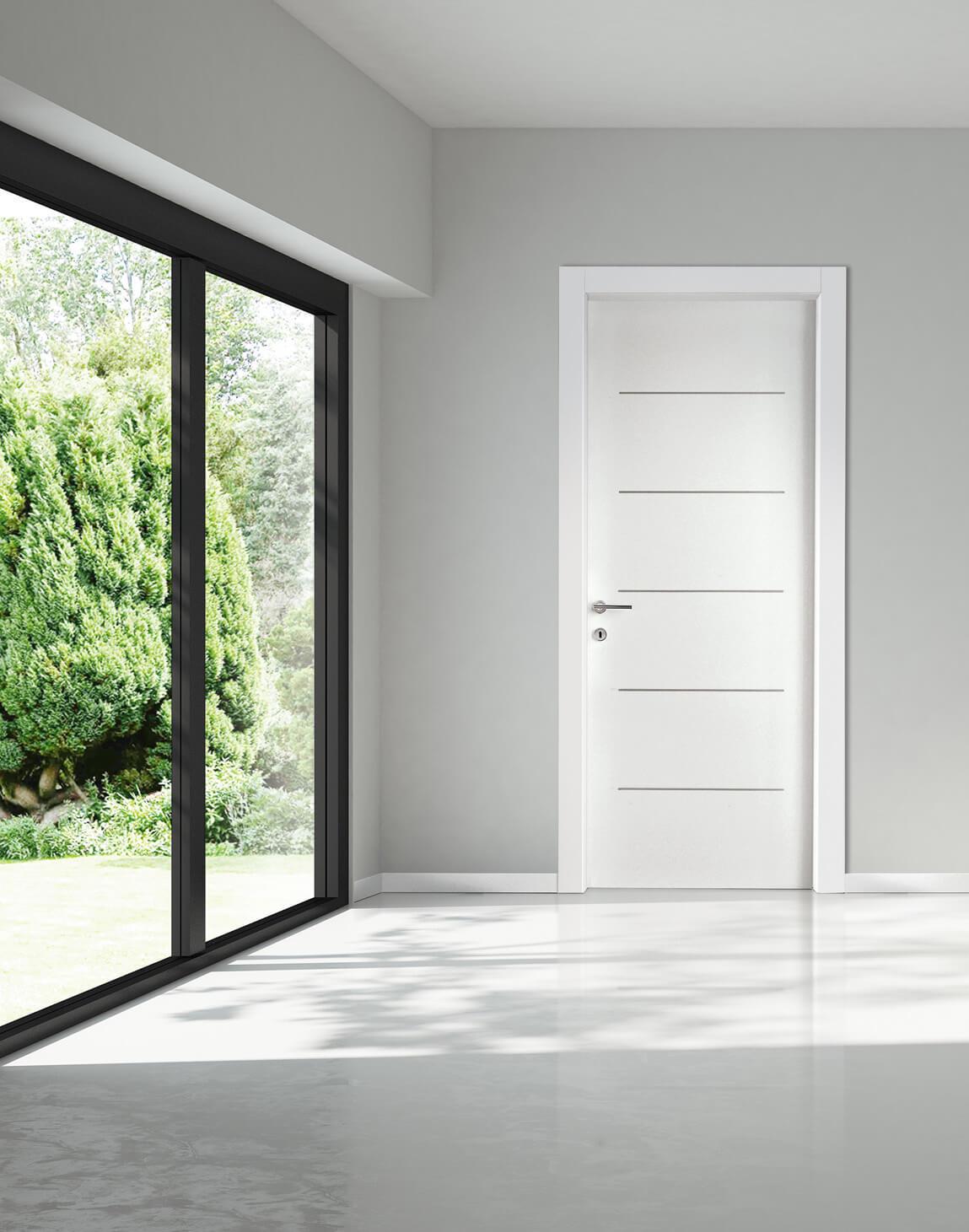 Porte interne porte scorrevoli porte a filo muro e porte for Porte a porte